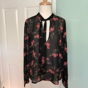Forever 21 NWT tie neck blouse for Nicole